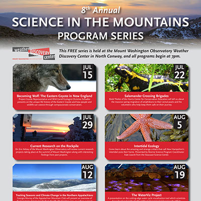 Science in the Mountains Poster